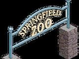 Springfield Zoo Entrance