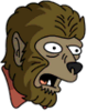 Werewolf Surprised Icon