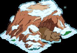 Bear Cave Snow Menu