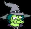 Witch Sad Icon