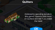 Quitters notification