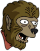 Werewolf Happy Icon