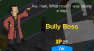 Bully Boss Unlock Screen