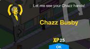 Chazz Busby Unlock Screen