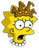 Little Miss Springfield Lisa Shocked Icon