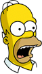 Homer Surprised Icon