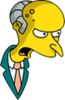 Mr. Burns Shouting Icon