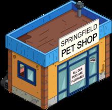 Springfield pet shop