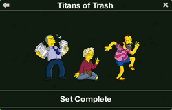 Titans of Trash Character Collection