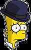 Clockwork Bart Sad Icon
