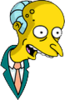 Mr. Burns Delighted Icon