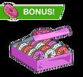 Box of 12 Valentine Donuts