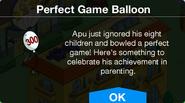 The Perfect Game Apu Balloon