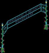 Springfield Heights Gate Menu