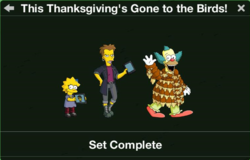 This Thanksgiving's Gone to the Birds! Character Collection