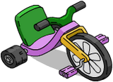Bart's Three-Wheeler Icon