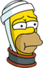 Homer Hurt Icon