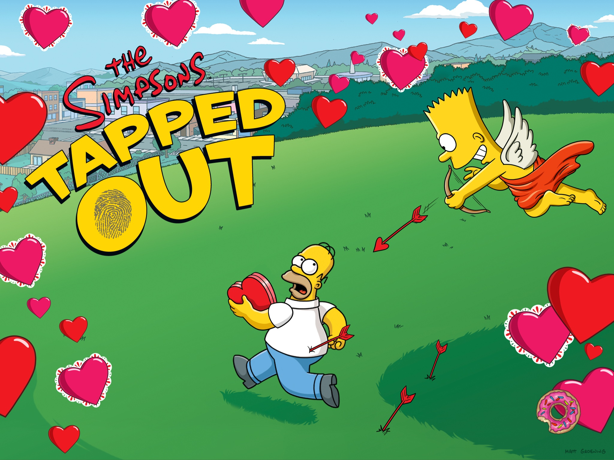 Valentine S Day 2013 Event The Simpsons Tapped Out Wiki Fandom