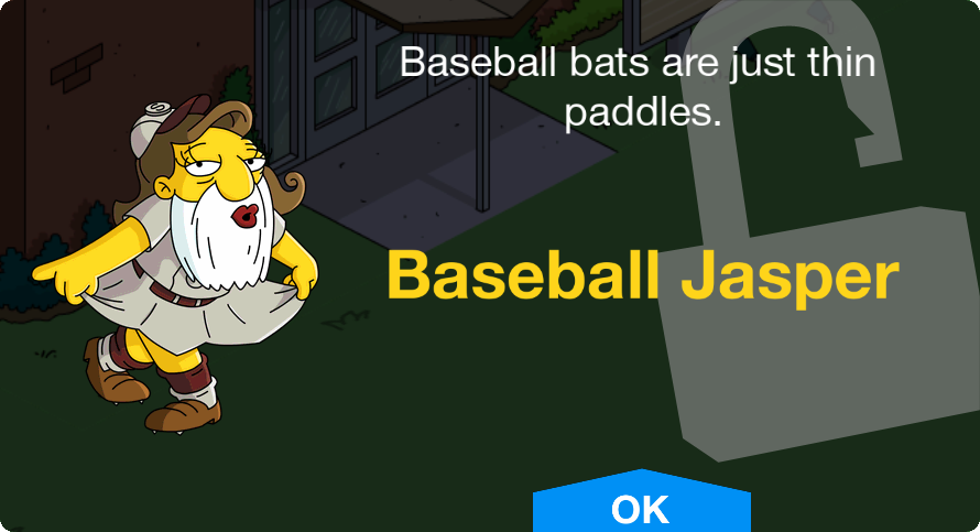 37297bd1d9d1 Baseball Jasper | The Simpsons: Tapped Out Wiki | FANDOM powered by Wikia