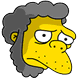 Caveman Moe Sad Icon