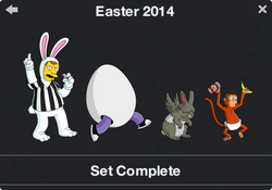 Easter 2014 Character Collection