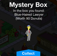 Mystery Box Blue-Haired Lawyer