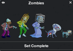 Zombies Character Collection