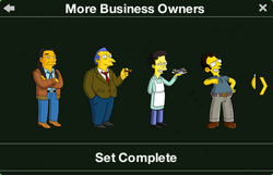 More Business Owners Character Collection 1