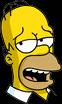 Homer Sarcastic Icon