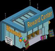 Reward Center Menu