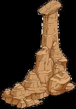 Rock Pillar (medium) Menu