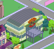 Soarin' Over Springfield in the game