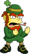 Leprechaun the simpsons
