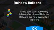 Rainbow Balloons Notification