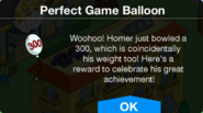 The Perfect Game Homer Balloon