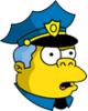 Wiggum Confused Icon