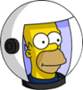 Deep Space Homer Icon