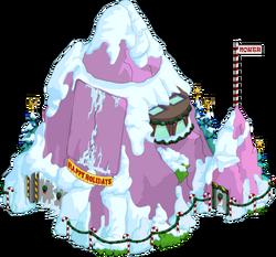 Christmas Volcano Lair Snow Menu