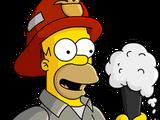 Fireman Homer