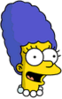 Baby Marge Happy Icon