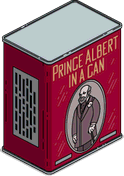 Life-Size Prince Albert in a Can Menu