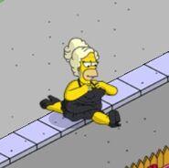 Pride Homer Working the Heels (3)