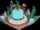 Rigellian Christmas Spaceship