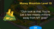 Money Mountain Level 10 Unlock