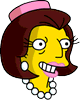 Mrs. Quimby Happy Icon