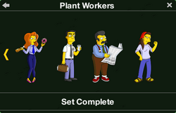 Plant Workers Character Collection 2