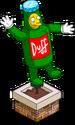 Dizzy Duff Topiary