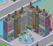 Two Brick Townhomes in the game