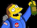 Astronaut Barney