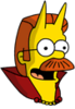 Devil Flanders Happy Icon